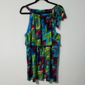 Fabulous Lane Bryant layered sleeveless top, 22/24